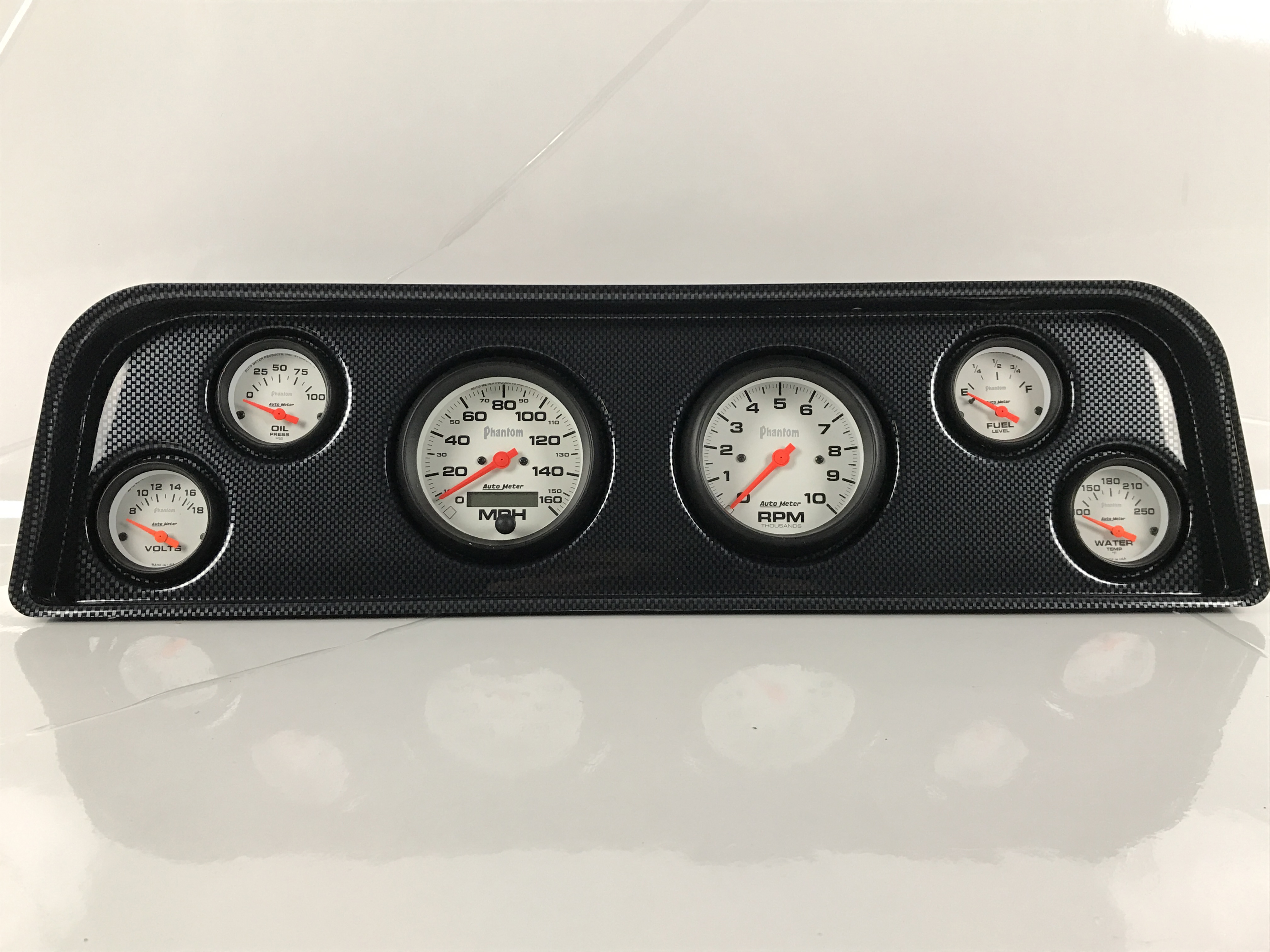 Labeled Instrument Panel For Trucks : Instrument panels for gmc trucks from classic dash